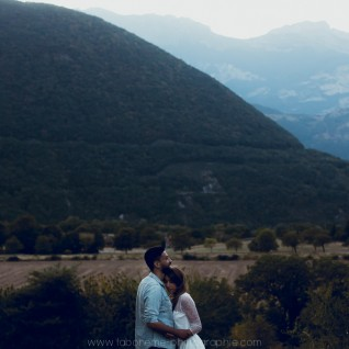 photo d'engagement couple grenoble