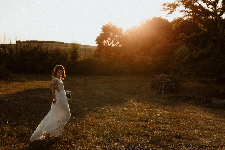 mariage boheme haute-savoie