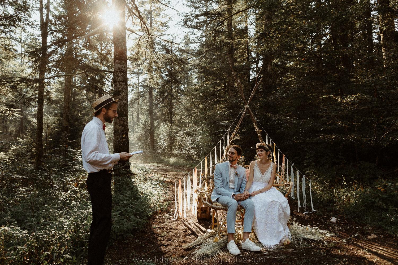 mariage en foret haute savoie
