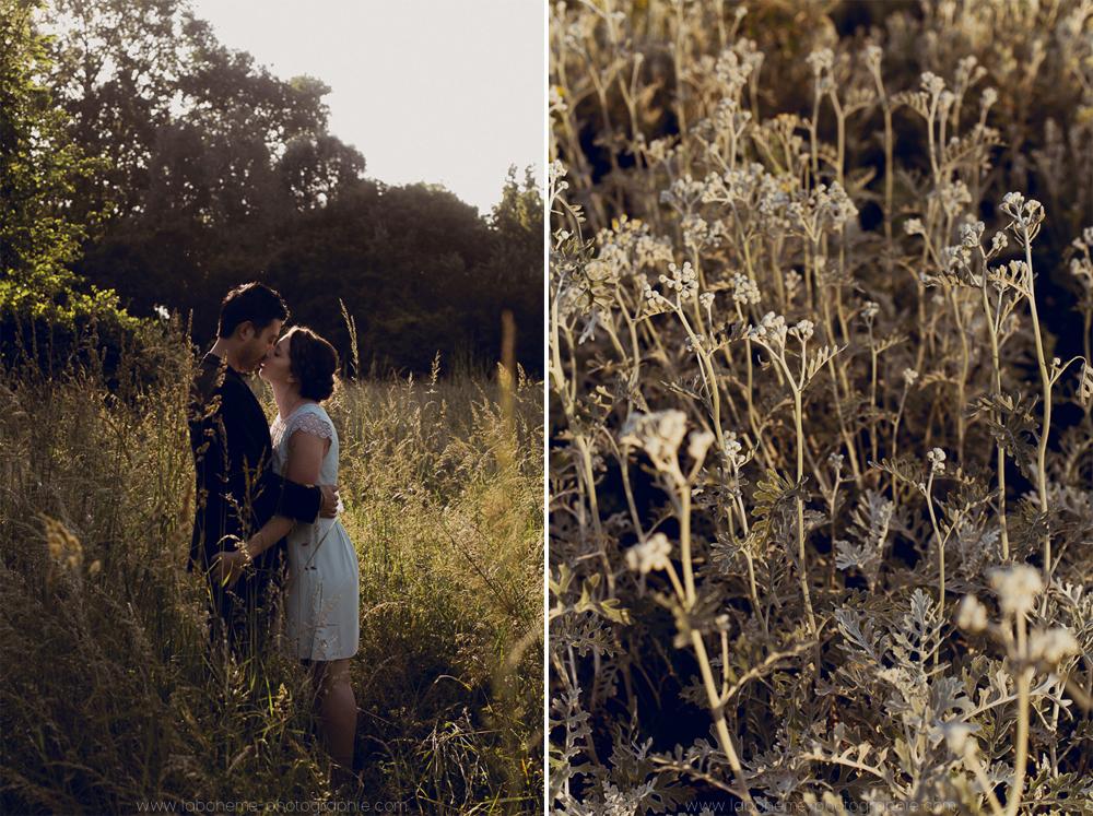 Séance engagement romantique - Haute Savoie - La Bohème Photographiephoto de couple romantiques paris