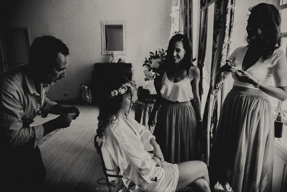 un mariage en Provence à la Bastide de Puget - La Bohème Photographieun mariage en Provence à la Bastide de Puget - La Bohème Photographie - Préparation Mariée