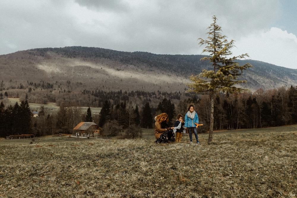 Week-end en famille dans les Bauges - La Bohème Photographie - Savoie