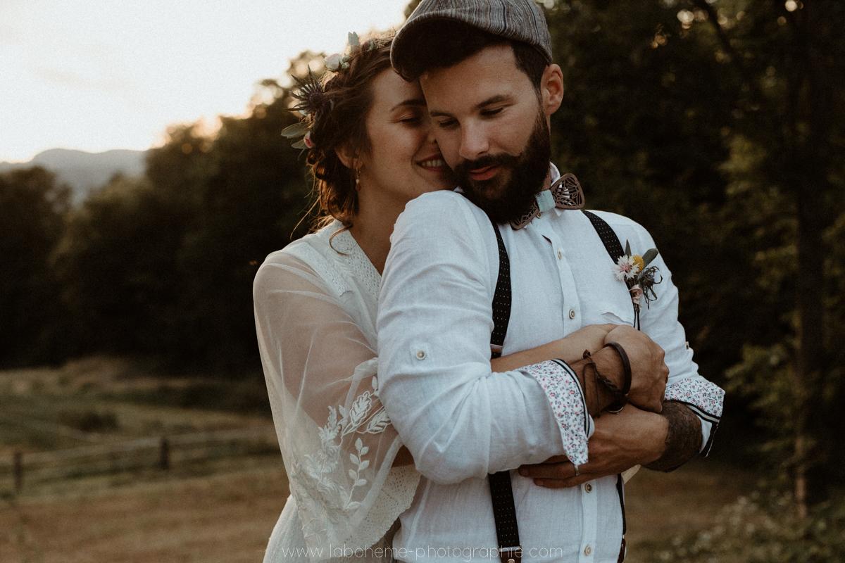 mariage alternatif boho folk en savoie