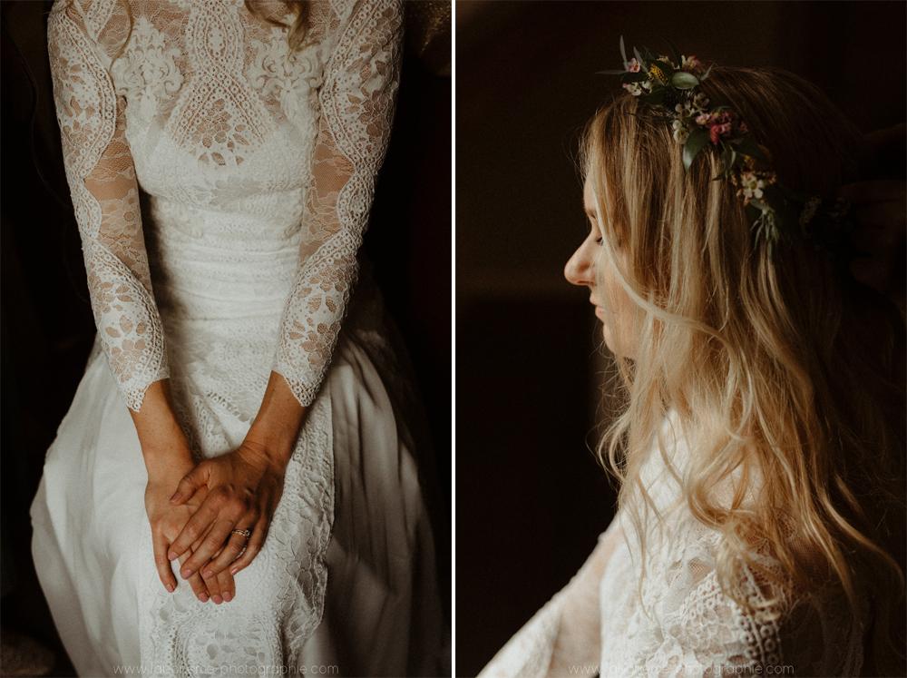mariage boheme-chic a talloires