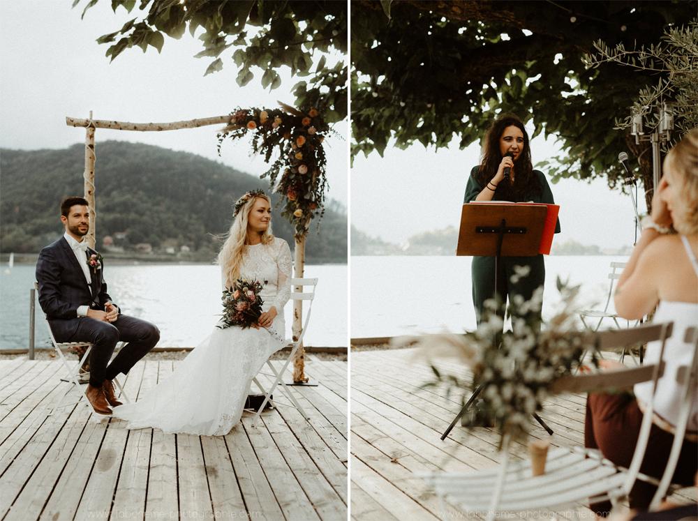 un mariage boh me chic talloires la boh me photographie. Black Bedroom Furniture Sets. Home Design Ideas