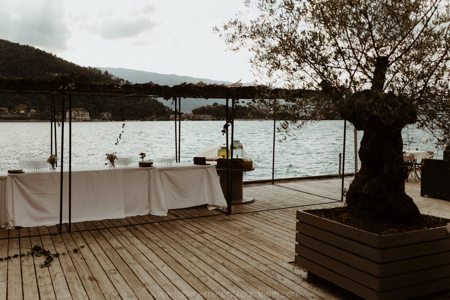 mariage intime lac d'annecy - mariage lac annecy - photographe mariage