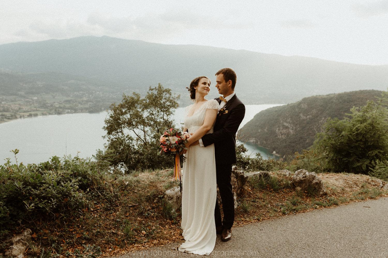 mariage au bord du lac d'annecy
