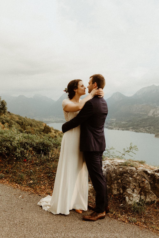 un mariage chic au bord du lac d'annecy
