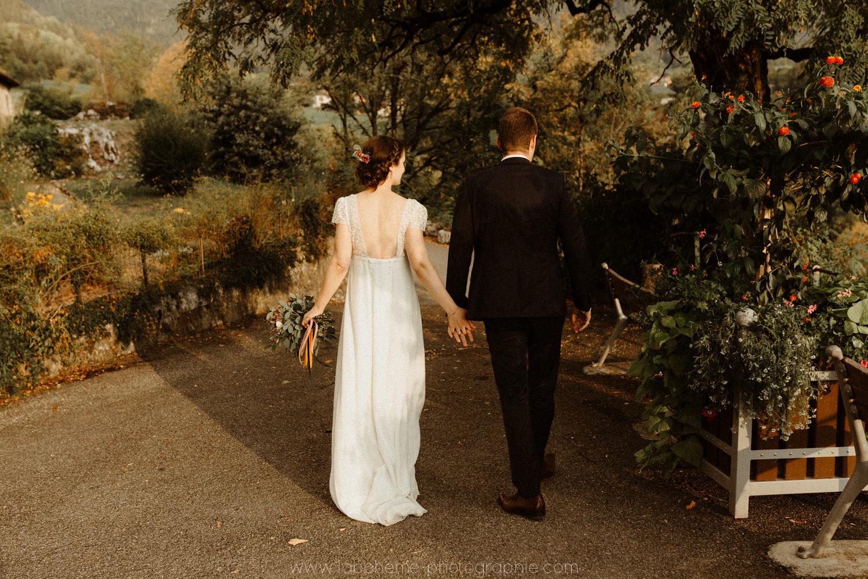 mariage chic a talloires
