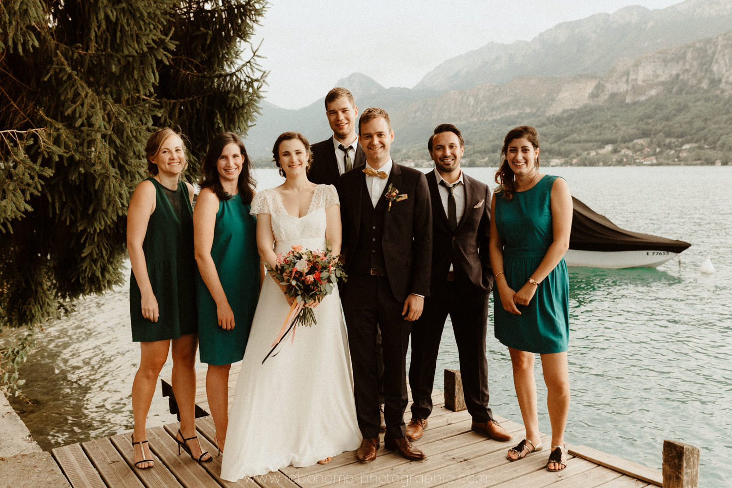 mariage lac annecy - photographe mariage - Annecy