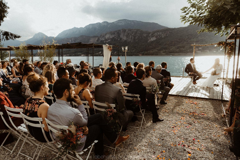photographe mariage boheme talloires annecy