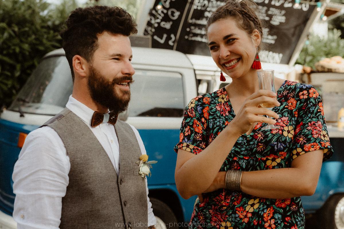 photographe mariage simple et boho savoie