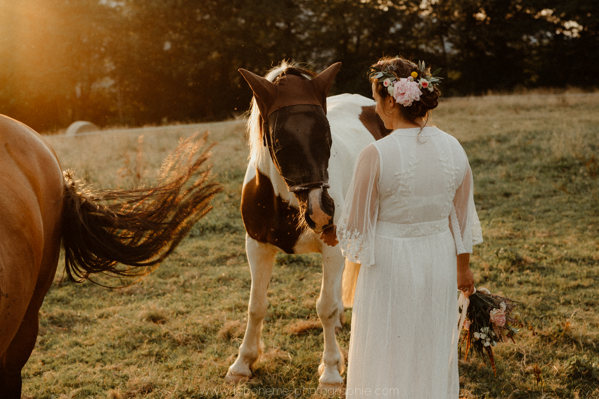 photographe mariage boheme megeve