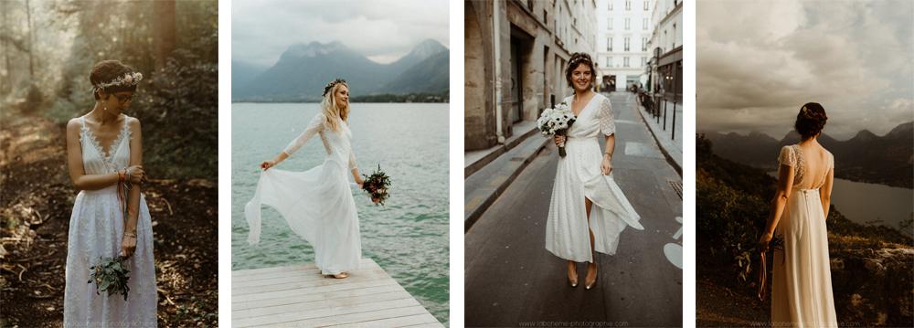 photographe mariage d'hiver montagne haute savoie