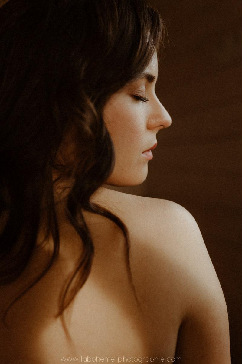 seance portrait de femme intime en savoie