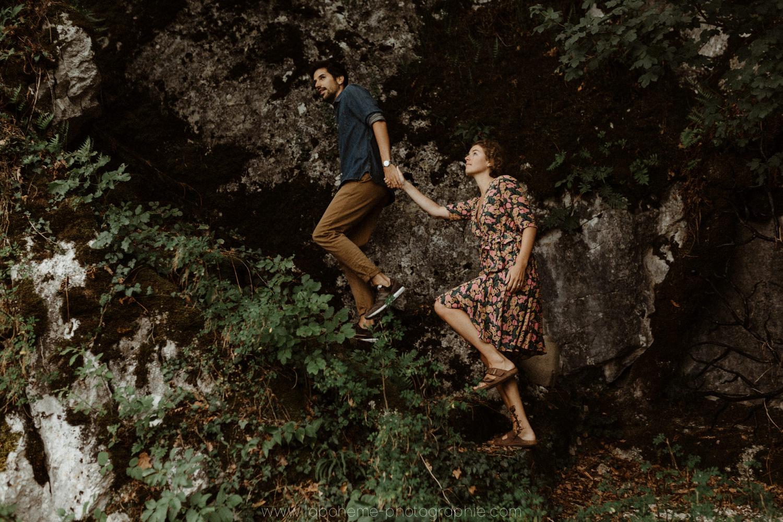 Séance couple - Haute Savoie - La Bohème Photographie
