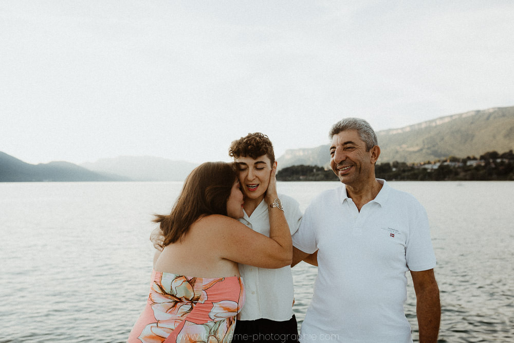 seance famille lac du bourget Aix les bains