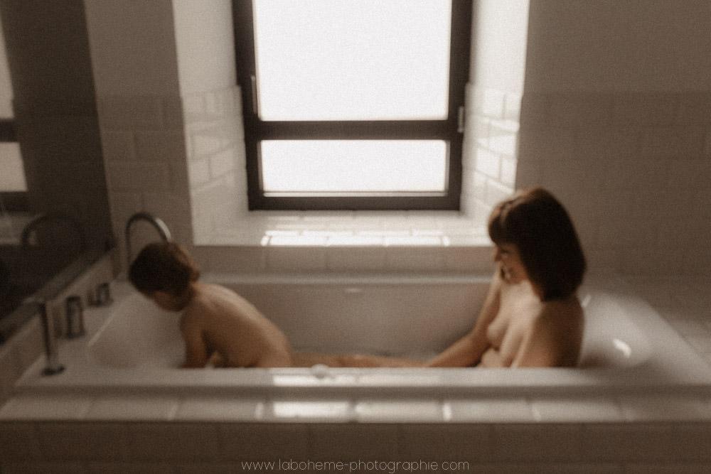seance mere bebe bain Haute Savoie