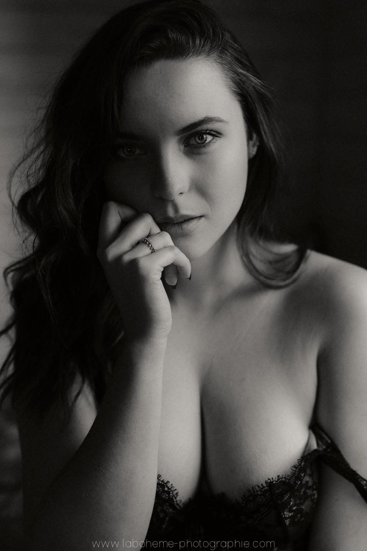 shooting portrait de femme intime savoie