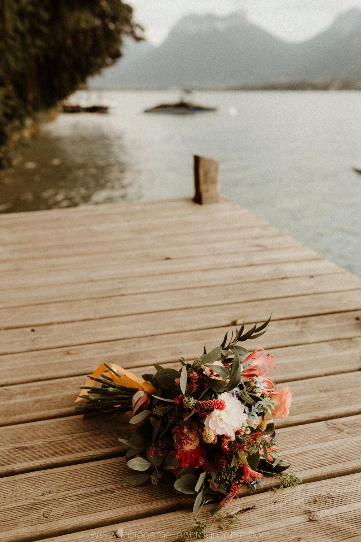 mariage chic au bord du lac d'annecy