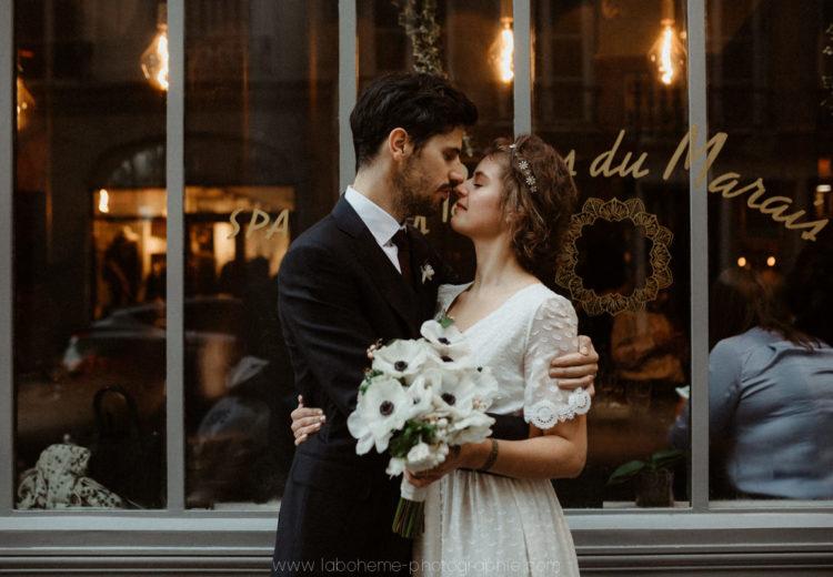 mariage folk en hiver