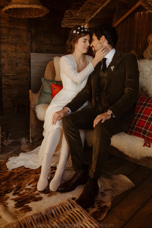 mariage hivernal haute savoie