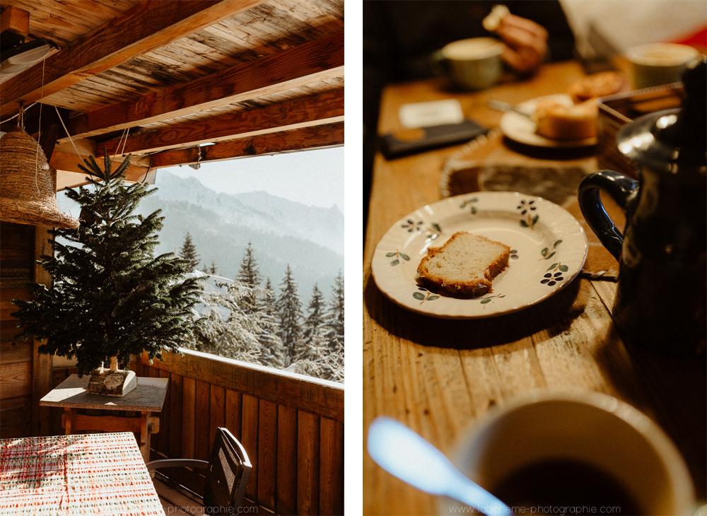 mariage d'hiver montagne