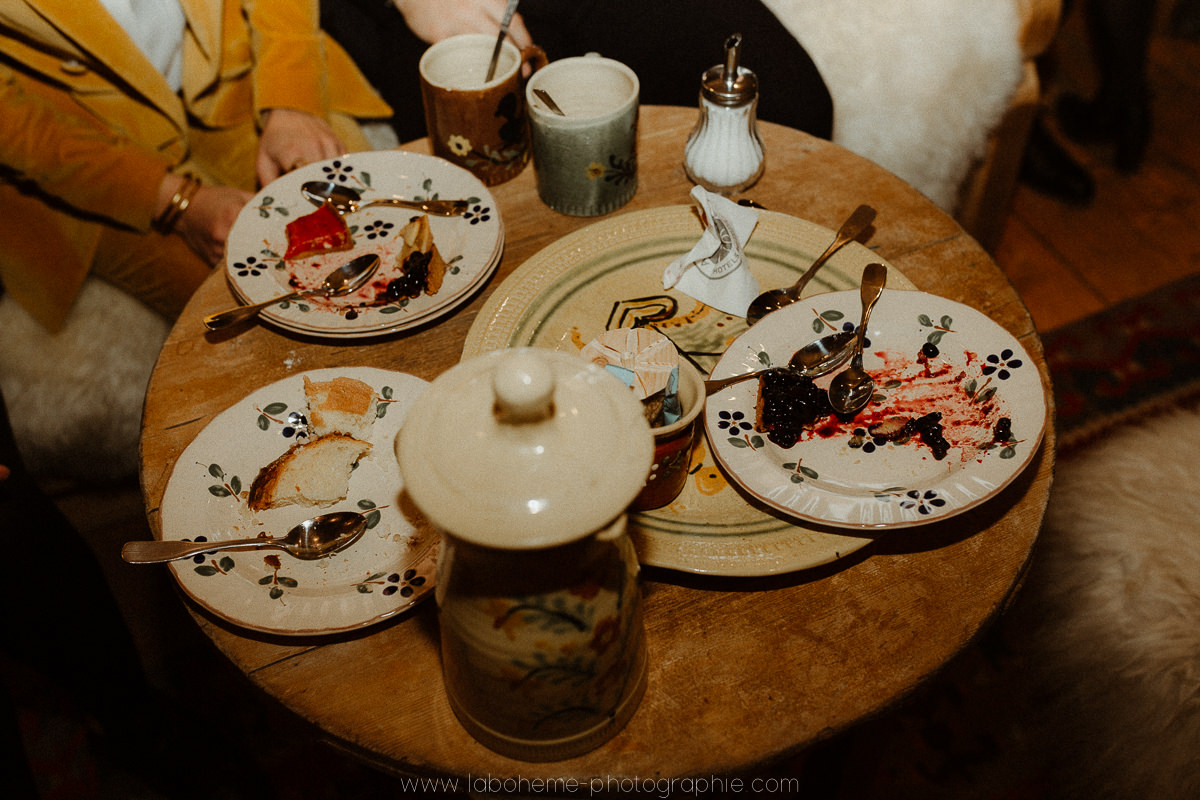 mariage hiver gouter