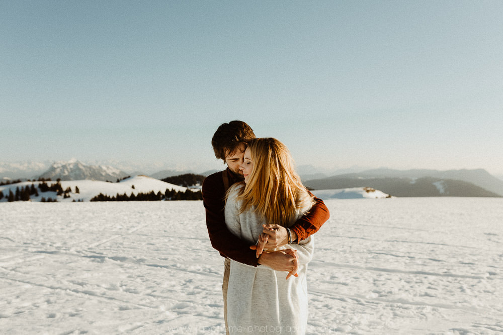 seance couple montagne