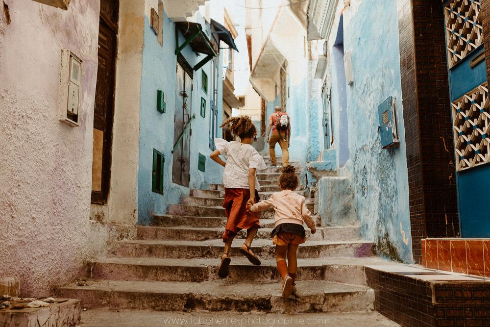 voyager avec enfants a tanger