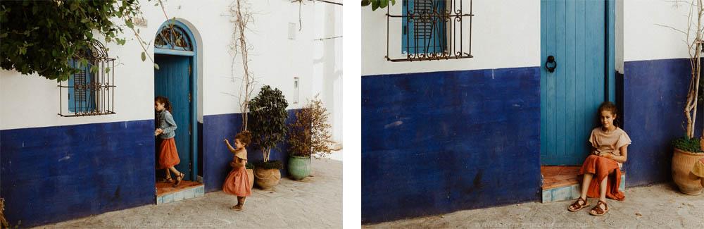 en famille au maroc