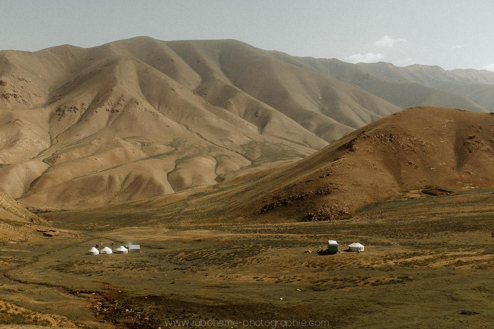 trek a cheval au kirghizistan