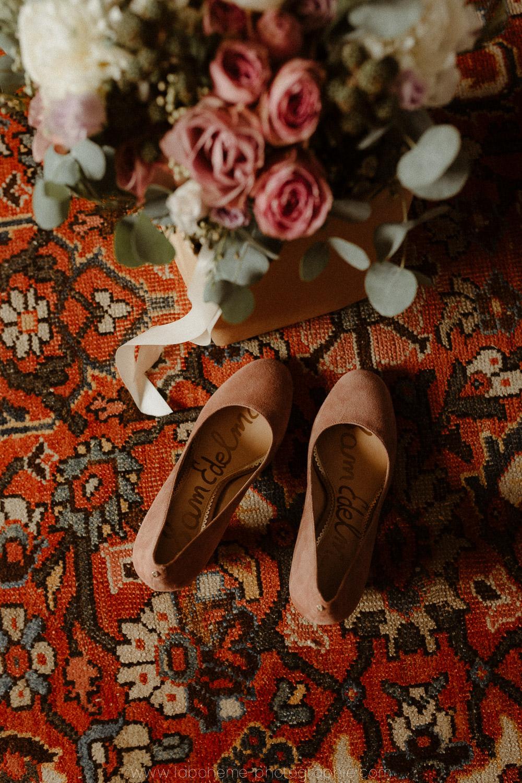 mariage et tapis persan