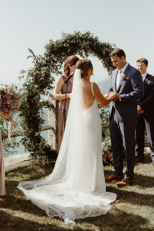 ceremonie de mariage dehors