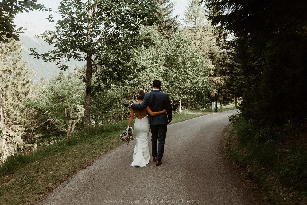 photo de mariage a la montagne