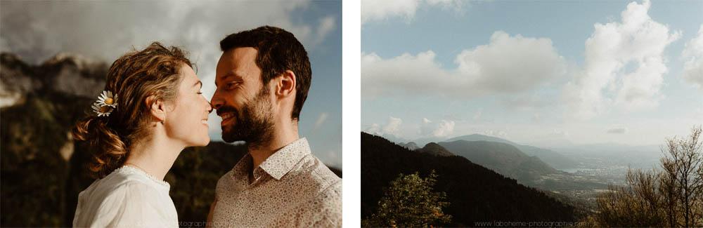 amoureux a la montagne