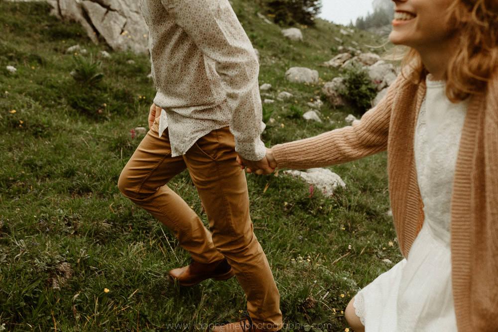 shooting couple haute savoie montagne