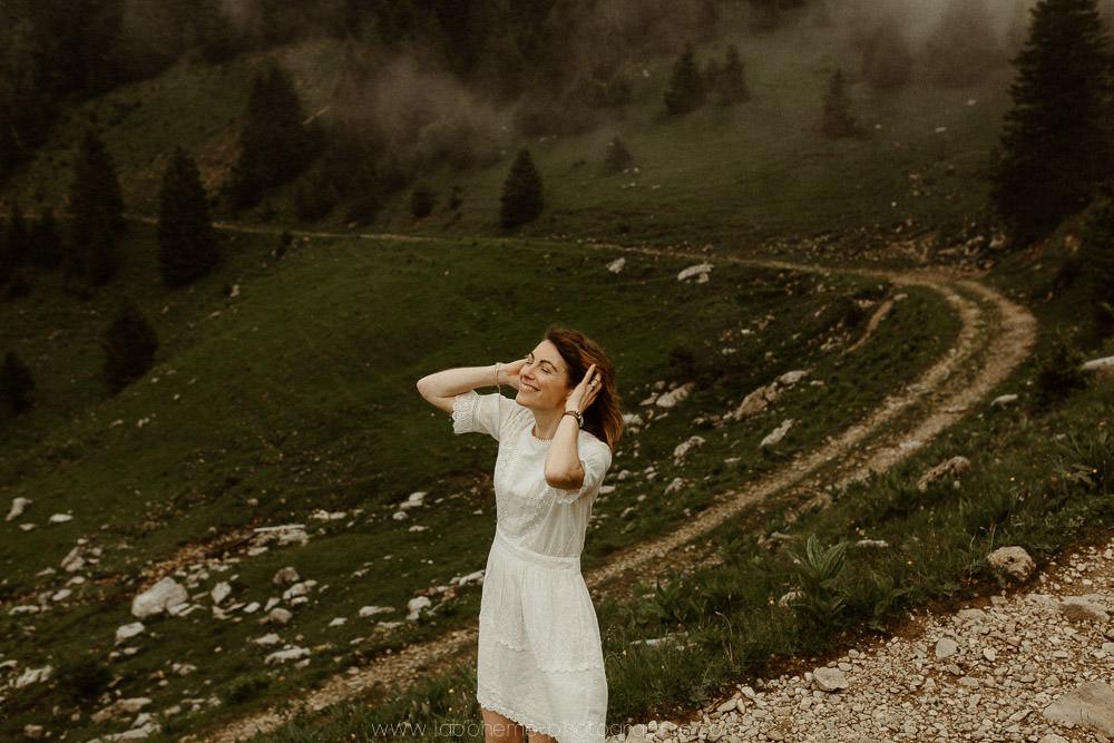 future mariee a la montagne