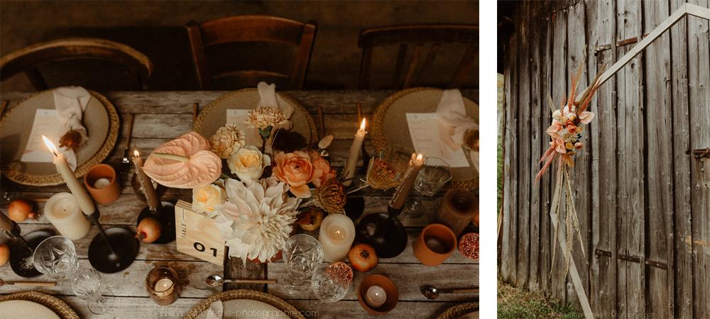 decoration naturelle mariage