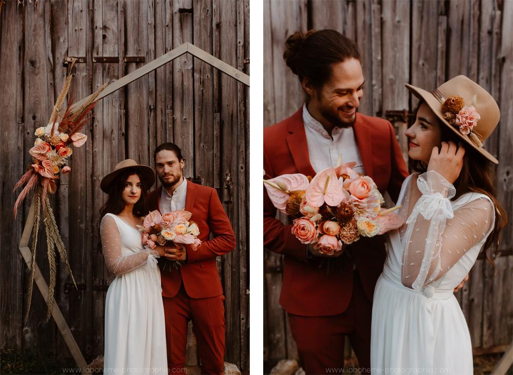 mariage folk alpes
