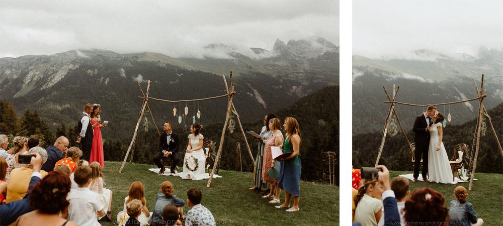 ceremonie laique chalet montagne