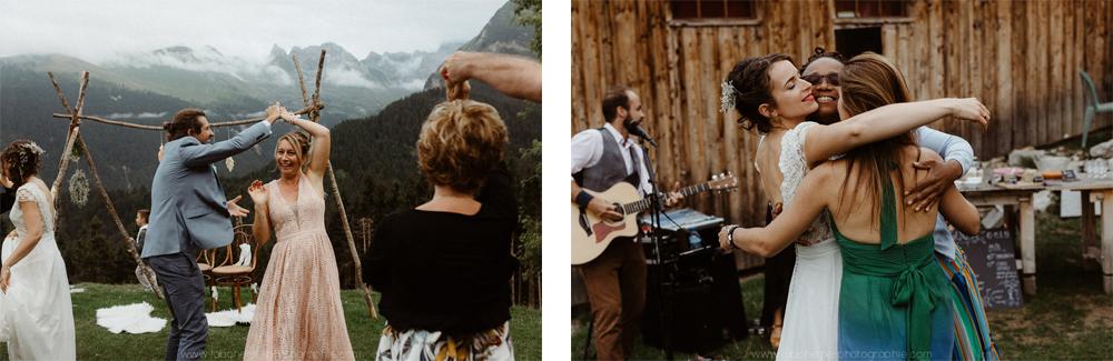 mariage folk montagne