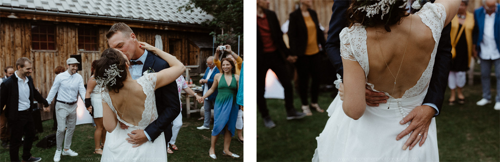 mariage chalet montagne