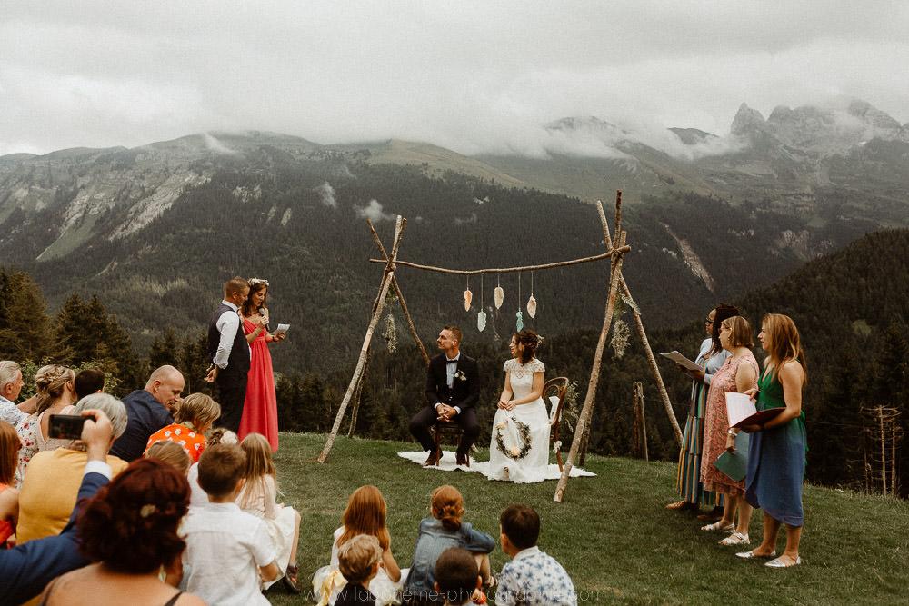 photographe mariage laique montagne