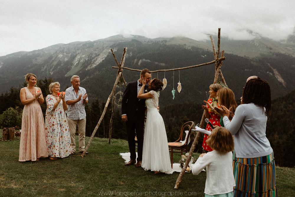mariage laique au reposoir