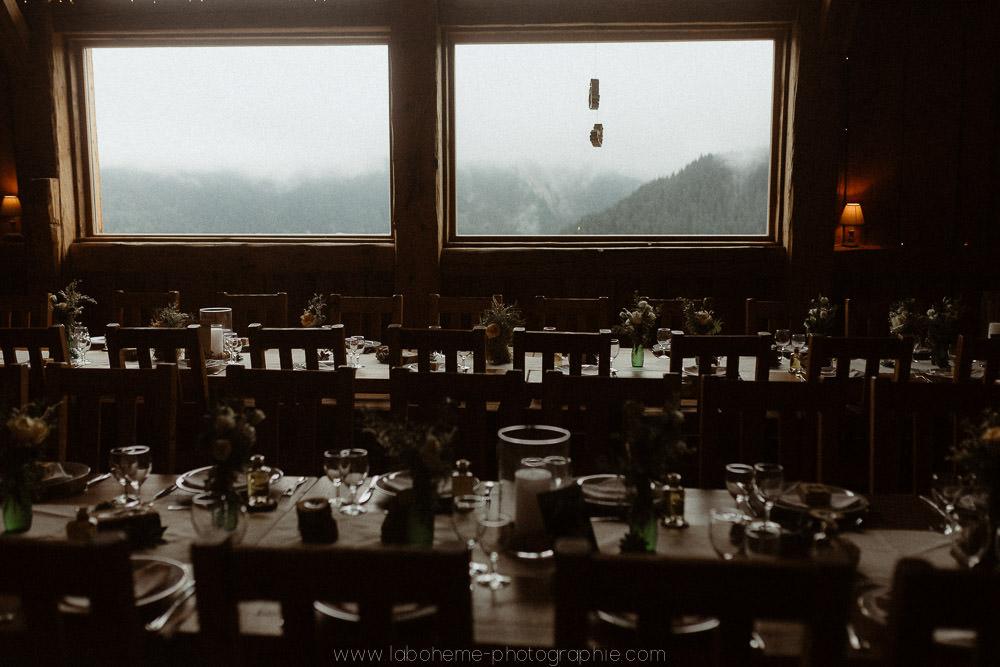 mariage simple montagne