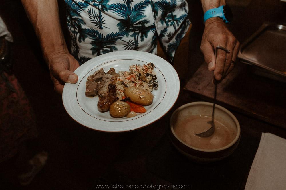 repas montagnard mariage