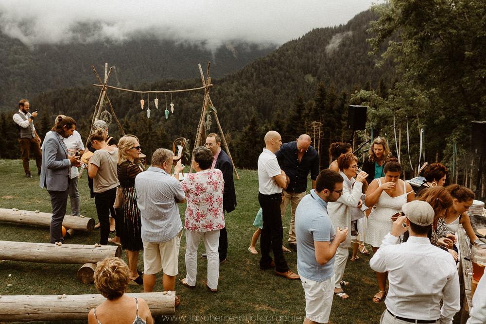mariage montagne ete