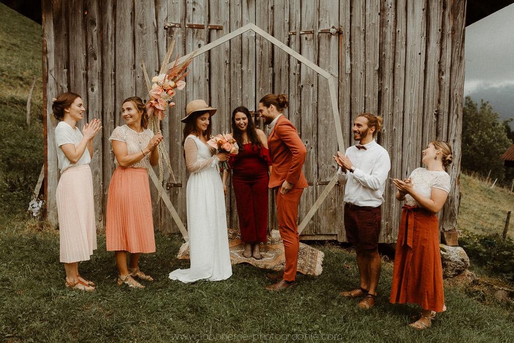 mariage laique en montagne