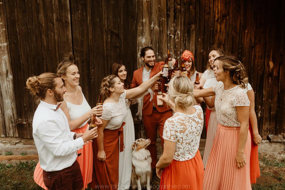 mariage en petit comite en savoie